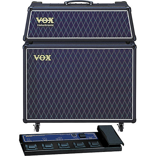 Vox Valvetronix AD60VTH / AD212 Extension Cab Package with Foot Controller-thumbnail