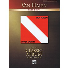 Alfred Van Halen - Diver Down Guitar Recorded Version Series Softcover Performed by Van Halen