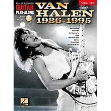 Hal Leonard Van Halen 1986-1995 - Guitar Play-Along Vol. 164 Book/CD