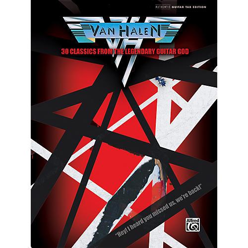 Hal Leonard Van Halen 30 Classics from the Legendary Guitar God Guitar Tab Book