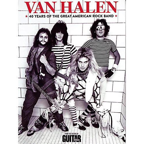 Hal Leonard Van Halen: 40 Years Of The Great American Rock Band