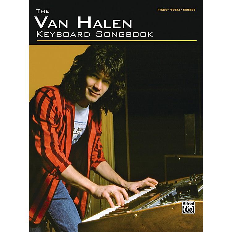 AlfredVan Halen Keyboard Songbook
