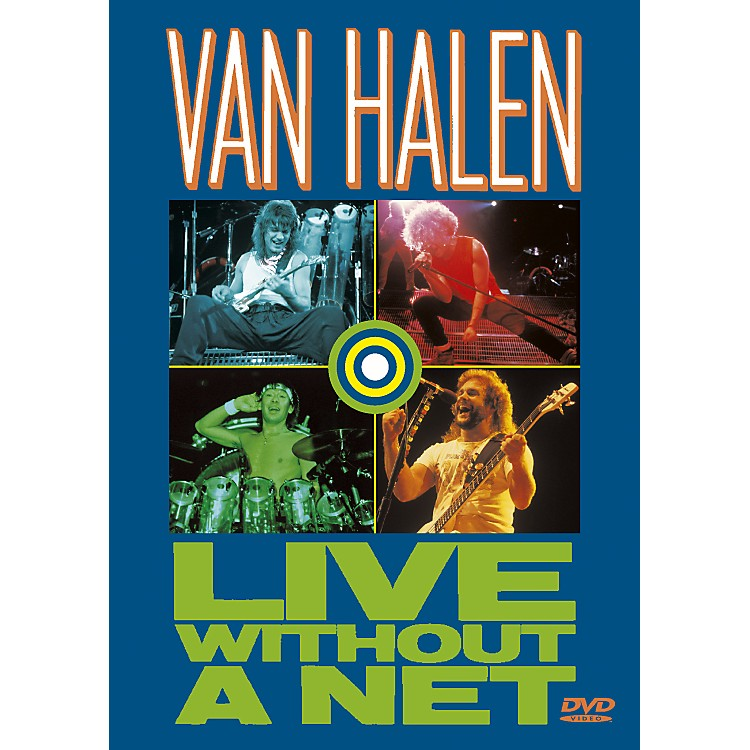 AlfredVan Halen Live without a Net (DVD)