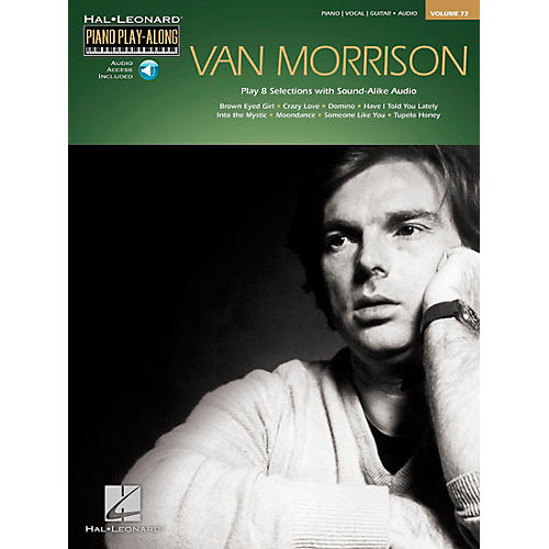 Hal Leonard Van Morrison - Piano Play-Along Volume 72 Book/CD-thumbnail