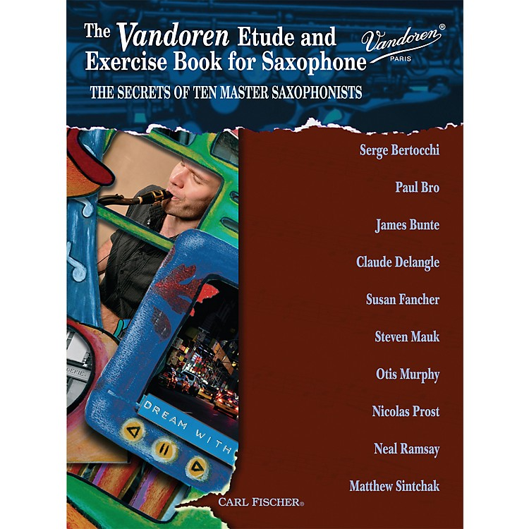Carl Fischer Vandoren Etude & Exercise Book for Saxophone: The Secrets of Ten Master Saxophonists (Book)
