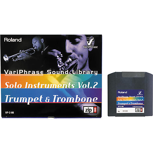 Roland VariPhrase Solo Instruments Vol. 2 - Trumpet and Trombone