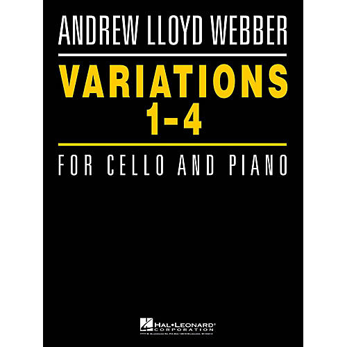 Hal Leonard Variations 1-4 for Cello and Piano Instrumental Series Softcover-thumbnail