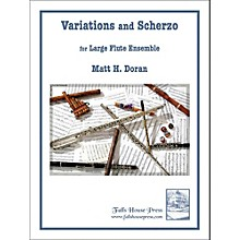 Carl Fischer Variations And Scherzo for Large Flute Ensemble