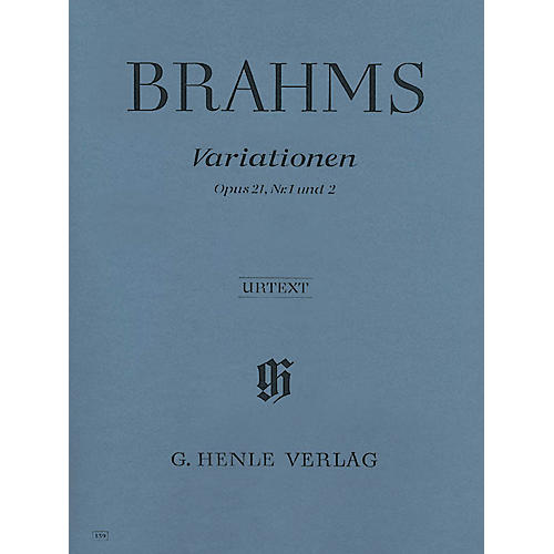 G. Henle Verlag Variations Op. 21 Nos. 1 and 2 Henle Music Folios Series Softcover-thumbnail