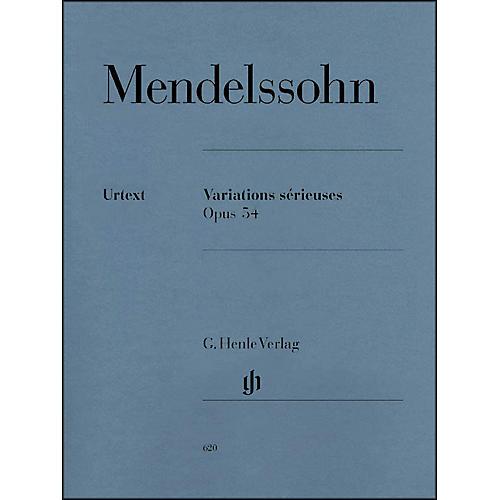 G. Henle Verlag Variations Sérieuses, Op. 54 By Mendelssohn