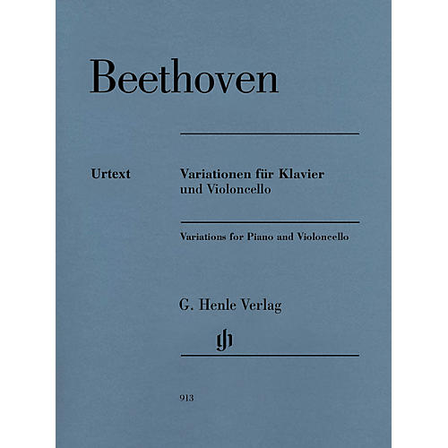 G. Henle Verlag Variations for Piano and Violoncello Henle Music by Beethoven Edited by Jens Dufner-thumbnail