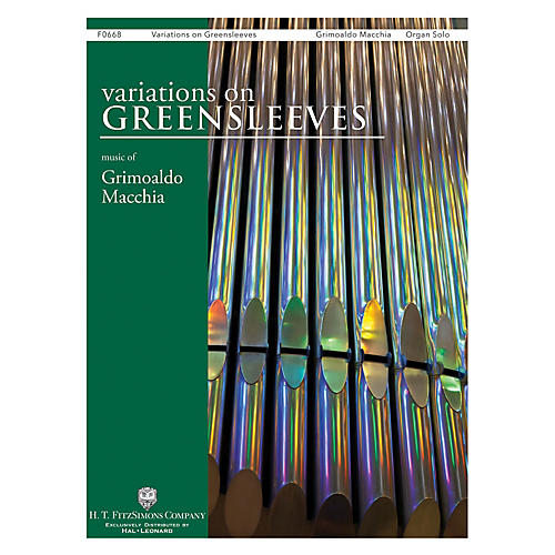 H.T. FitzSimons Company Variations on Greensleeves Organ Solo-thumbnail