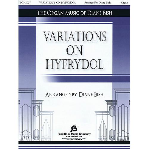 Fred Bock Music Variations on Hyfrydol arranged by Diane Bish-thumbnail
