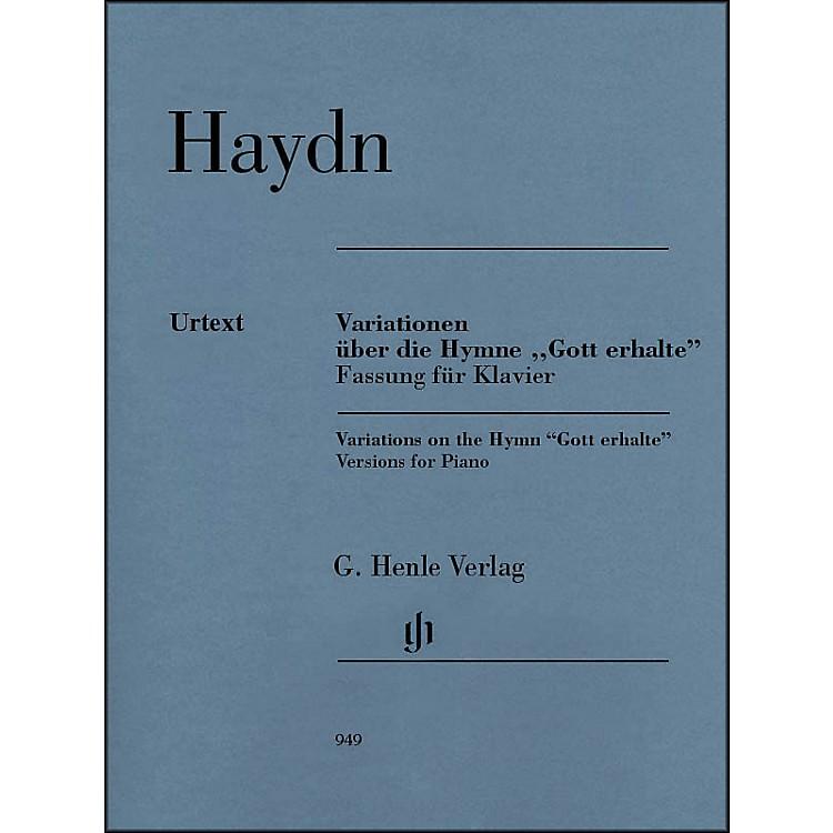 G. Henle VerlagVariations on the Hymn