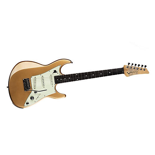 Line 6 Variax JTV-69S Electric Guitar with Single Coil Pickups Shoreline Gold Rosewood Fingerboard