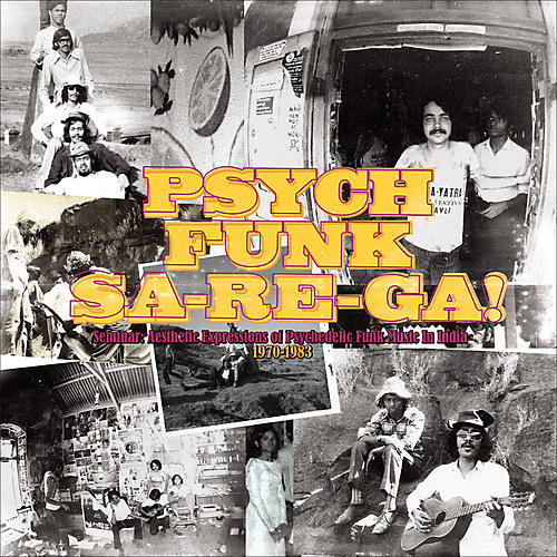 Alliance Various Artists - Psych-Funk: Sa-Re Ga!