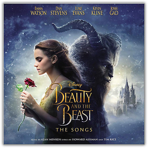 Universal Music Group Various Artists Beauty And The Beast: The Songs [LP][Blue]-thumbnail
