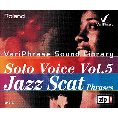 Roland Variphrase Solo Voice Vol. 5 Jazz Scat Phrases Zip Disk