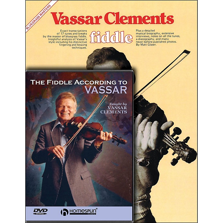 Hal Leonard Vassar Clements Fiddle Mega Pack