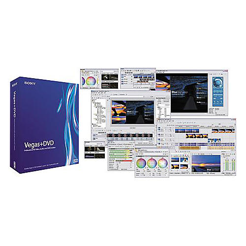 Sony Vegas 6.0+DVD Production Software Suite
