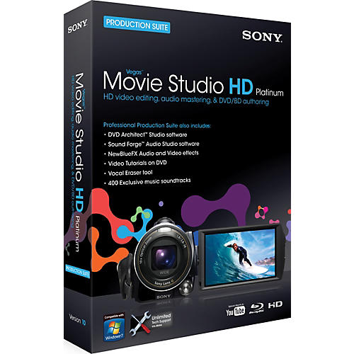 Sony Vegas Movie Studio HD Platinum 10 Suite-thumbnail