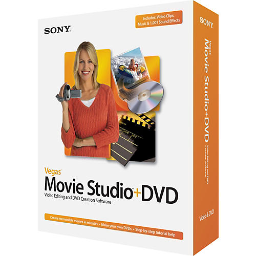 Sony Vegas Movie Studio Plus DVD