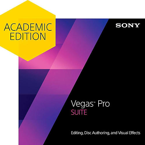 Sony Vegas Pro 13 Suite - Academic Software Download
