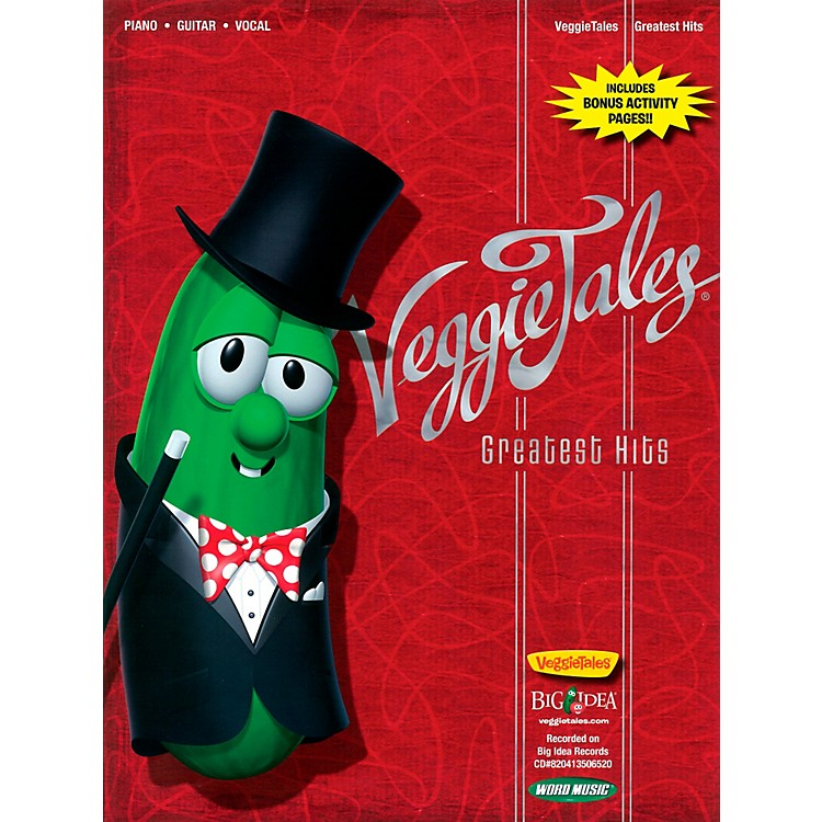 Word MusicVeggieTales: Greatest Hits for Piano/Vocal/Guitar