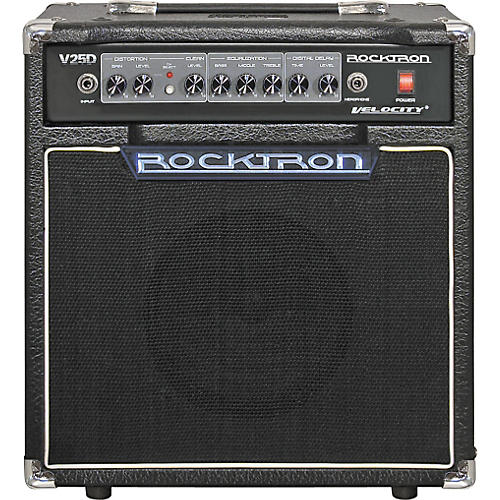 Rocktron Velocity Series V25D 25W 1x8 Guitar Combo Amp-thumbnail