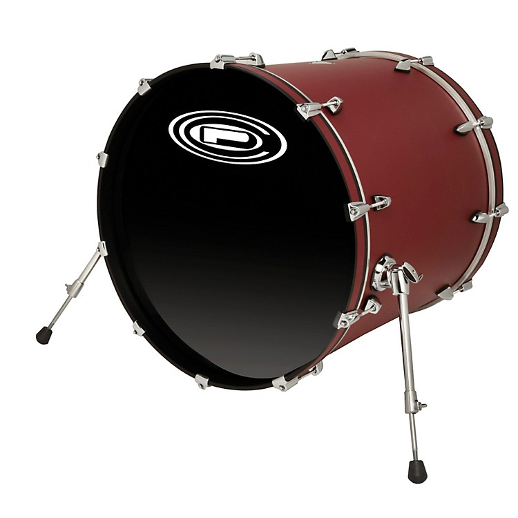 Orange County Drum & Percussion Venice Bass Drum Tuscan Red 22x20 Inch