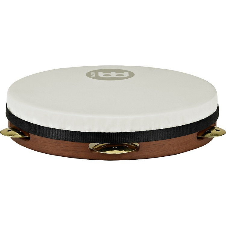 Meinl Vented Jingle Pandeiro AFRICAN BROWN 10 inch