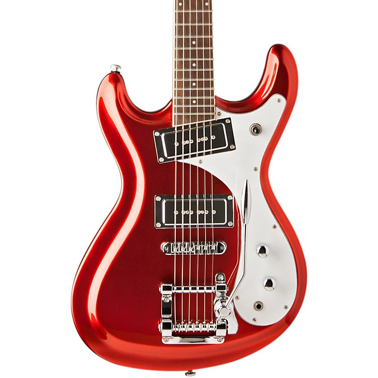 Jay Turser Venture Mach 1 Candy Apple Red Rosewood Fingerboard