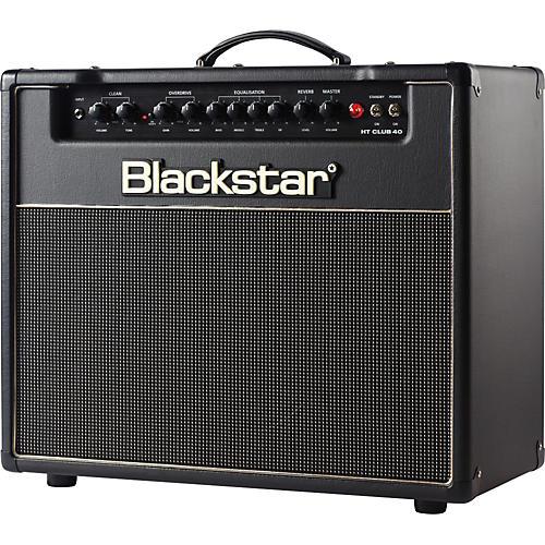 open box blackstar venue series ht club 40 40w tube guitar combo amp black musician 39 s friend. Black Bedroom Furniture Sets. Home Design Ideas