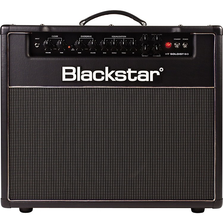 Blackstar Venue Series HT Soloist HT-60S 60W 1x12 Tube Guitar Combo Amp Black