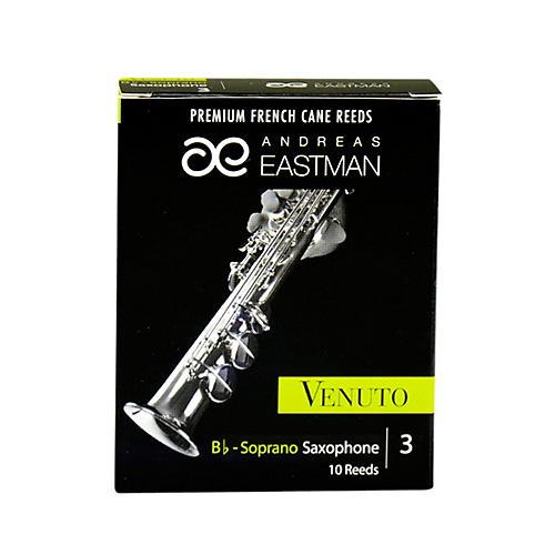 Andreas Eastman Venuto Soprano Saxophone Reeds Strength 3 Box of 10