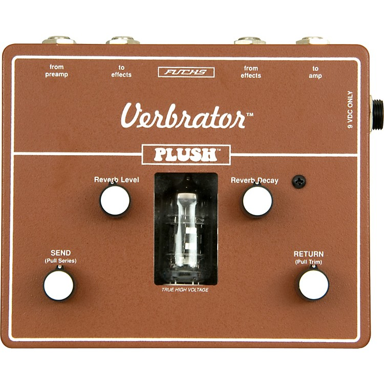 PlushVerbrator Loop and Reverb Guitar Effects Pedal