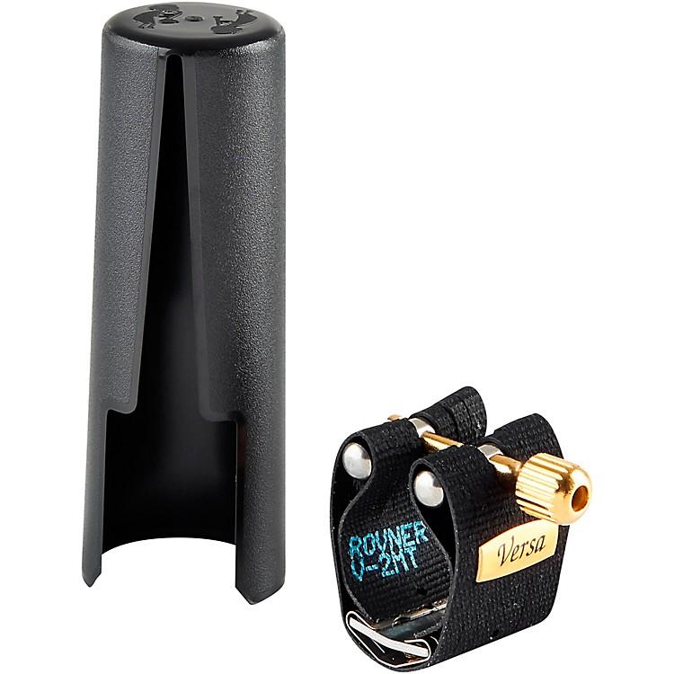 RovnerVersa Tenor Saxophone Ligature and CapFits Slim Hard Rubber Tenor Sax Mouthpieces