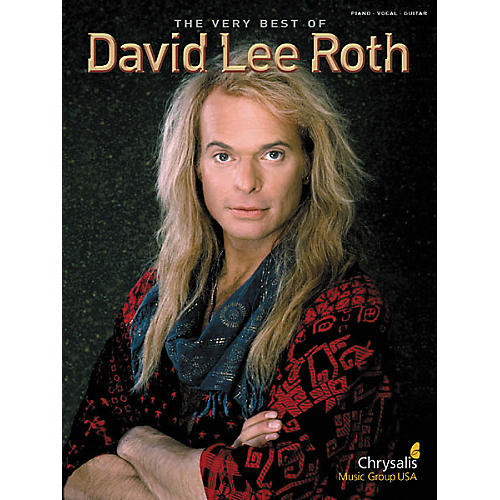 Hal Leonard Very Best of David Lee Roth Piano/Vocal/Guitar Artist Songbook-thumbnail