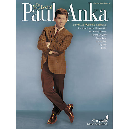 Hal Leonard Very Best of Paul Anka Piano, Vocal, Guitar Songbook