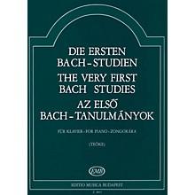 Editio Musica Budapest Very First Bach Studies-pno EMB Series by Johan Sebastian Bach