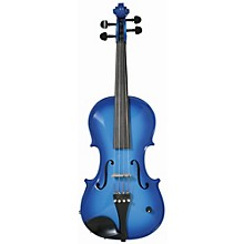 Barcus Berry Vibrato-AE Series Acoustic-Electric Violin Blue