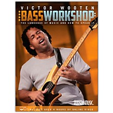 Hudson Music Victor Wooten Bass Workshop (The Language of Music and How To Speak It) Book/Online Video