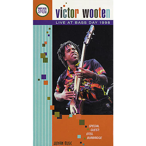 Hudson Music Victor Wooten Live At Bass Day 1998 VHS Video