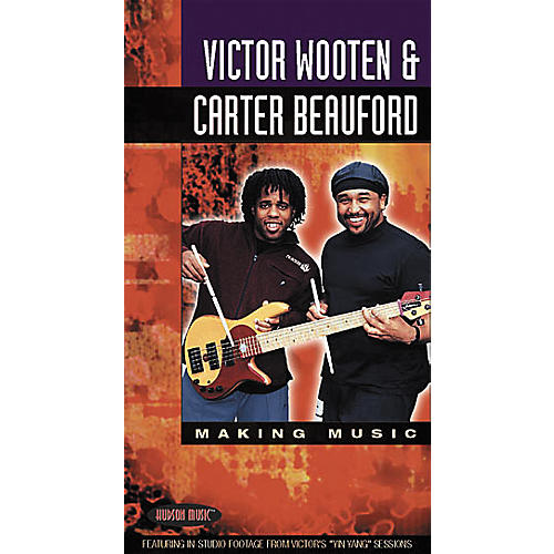 Hudson Music Victor Wooten and Carter Beauford - Making Music Video