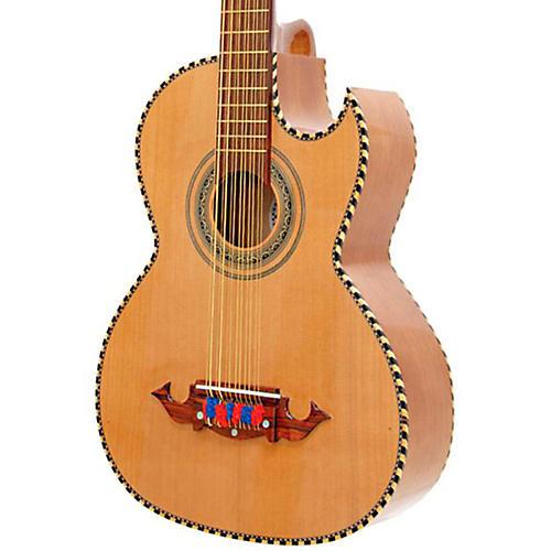 Paracho Elite Guitars Victoria 12 String Bajo Sexto Natural