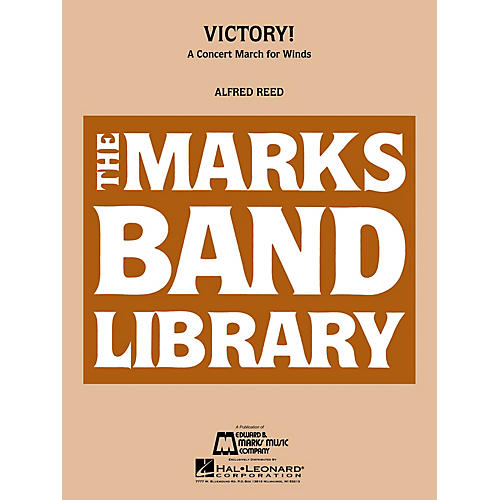 Edward B. Marks Music Company Victory! (A Concert March for Winds) Concert Band Level 4 Composed by Alfred Reed-thumbnail