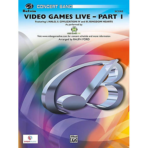 Alfred Video Games Live, Part 1 Grade 3 (Medium Easy)-thumbnail