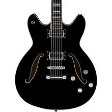 Viking Baritone Electric Guitar Gloss Black