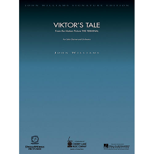 Cherry Lane Viktor's Tale (from The Terminal) John Williams Signature Edition Orchestra Series by John Williams-thumbnail