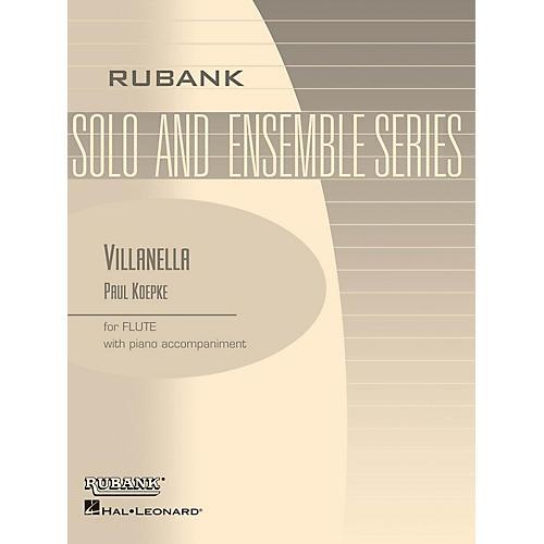 Rubank Publications Villanella (Flute Solo with Piano - Grade 3) Rubank Solo/Ensemble Sheet Series-thumbnail